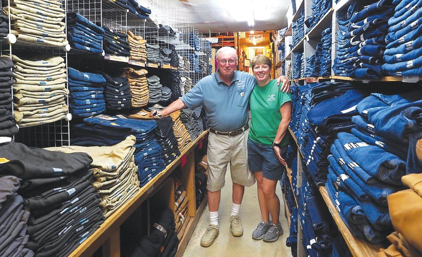 JR Moore & Son is a family affair — Rayvon King (pictured left) has worked at the store since 1968. His daughter, Julie King-McDaniel grew up working there and joined as a co-owner with King in 2011.