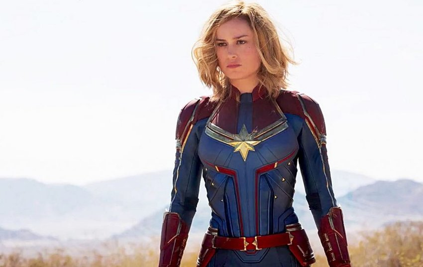 Brie Larson stars in 'Captain Marvel'