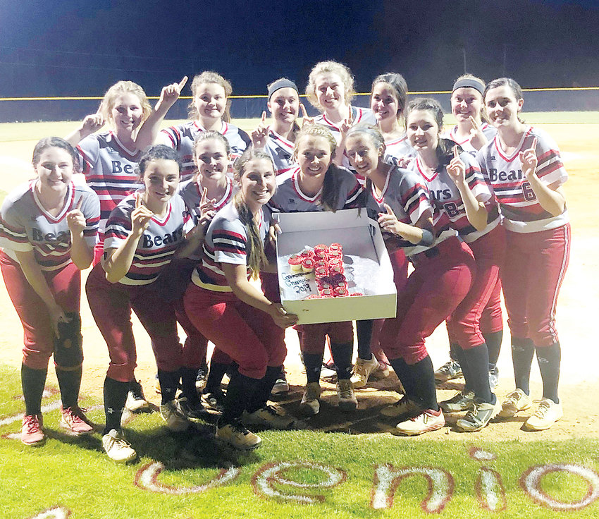 Chatham Central celebrated the defense of its 1A Central Tar Heel Conference tournament title in softball last Thursday night in Bear Creek with a 5-1 triumph over Chatham Charter.
