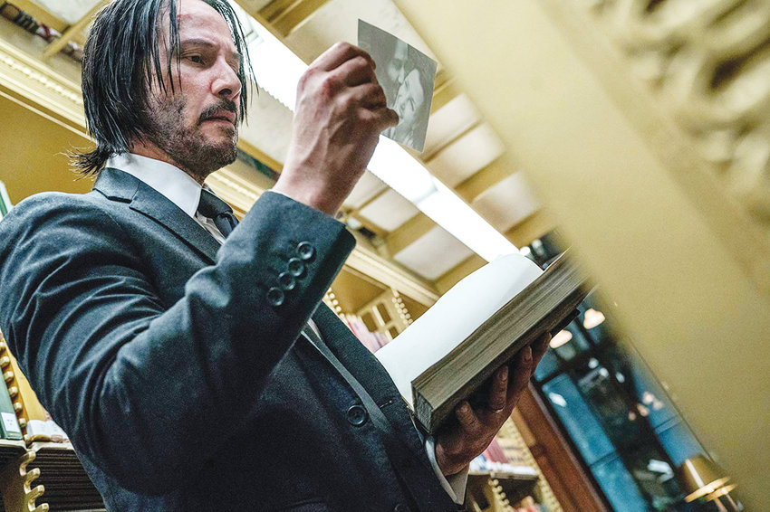 Keanu Reeves stars in 'John Wick: Chapter 3 – Parabellum.'..