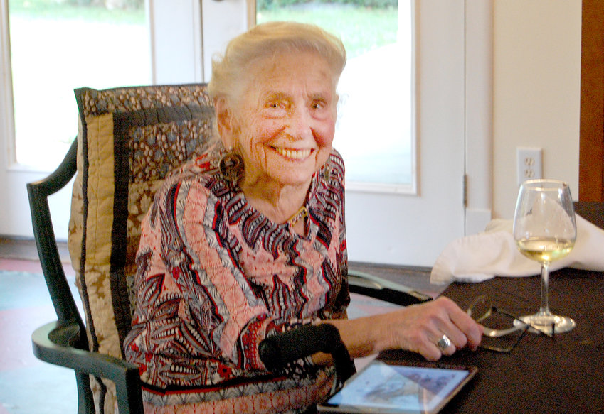 Syd Ginsberg celebrated her 90th birthday last year at The Celebrity Dairy, marking her move Siler City.