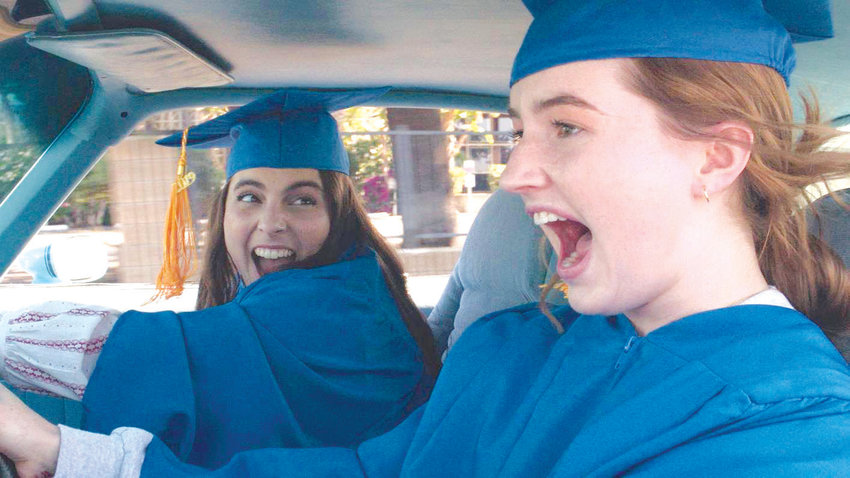 Beanie Feldstein and Kaitlyn Dever star in 'Booksmart.'