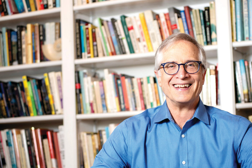 Longtime book editor Peter Guzzardi, a Chapel Hill resident since the late 1990s, has recently written his first book, 'Emeralds of Oz: Life Lessons from Over the Rainbow,' which comedian Carol Burnett says 'opens your eyes and heart to a new way of being in the world.'
