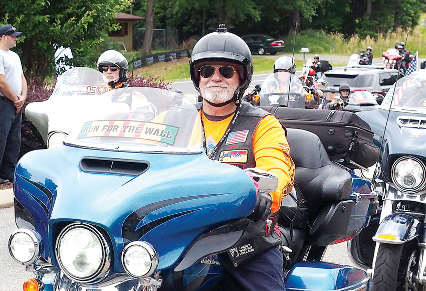 Run for the Wall Stops in Siler City.Hundreds of motorcycles rolled into Siler City last Wednesday as part of the annual Run for the Wall event, a California-to-Washington, D.C., Memorial Day trek to honor veterans, POWs and MIAs. For full coverage see pages A6-7.