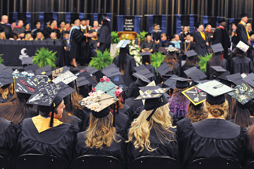 Central Carolina Community College observed its 56th Commencement Exercises on May 13 at the Dennis A. Wicker Civic & Conference Center in Sanford.
