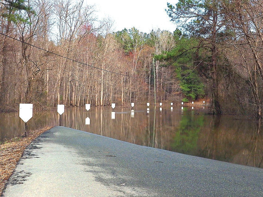 Residents of Jeremiah Drive were flooded by water from Jordan Lake for more than 70 days since the two hurricanes hit last September.