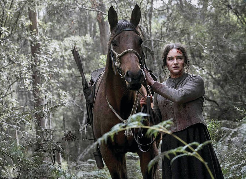 Aisling Franciosi stars in 'The Nightingale.'