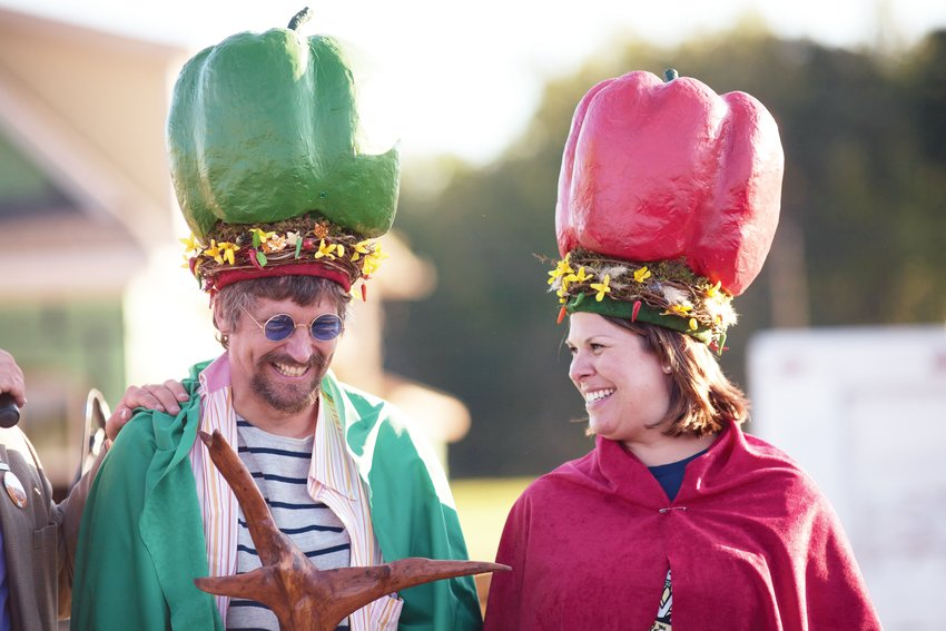 Lyle Estill and Shannon McSwiney, crowned at last year's PepperFest.