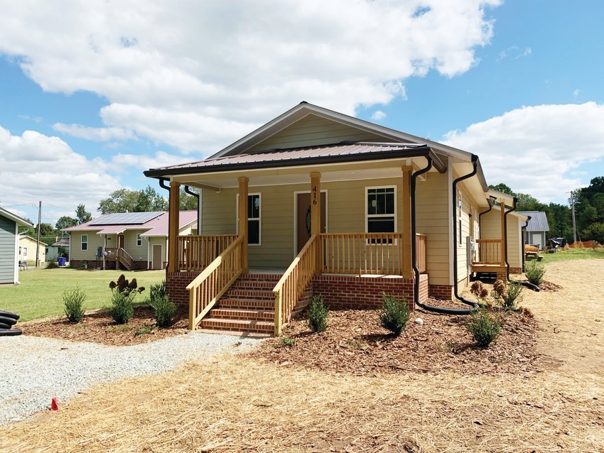 The Chatham County Habitat for Humanity works to help low- and middle-income families find affordable housing in the area.