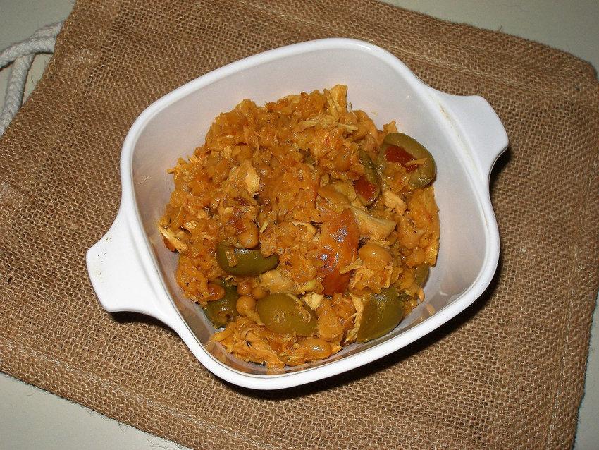 Sorta Puerto Rican Rice & Beans