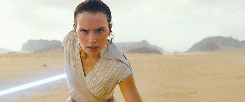 Daisy Ridley stars in 'Star Wars: Episode IX - The Rise of Skywalker.'