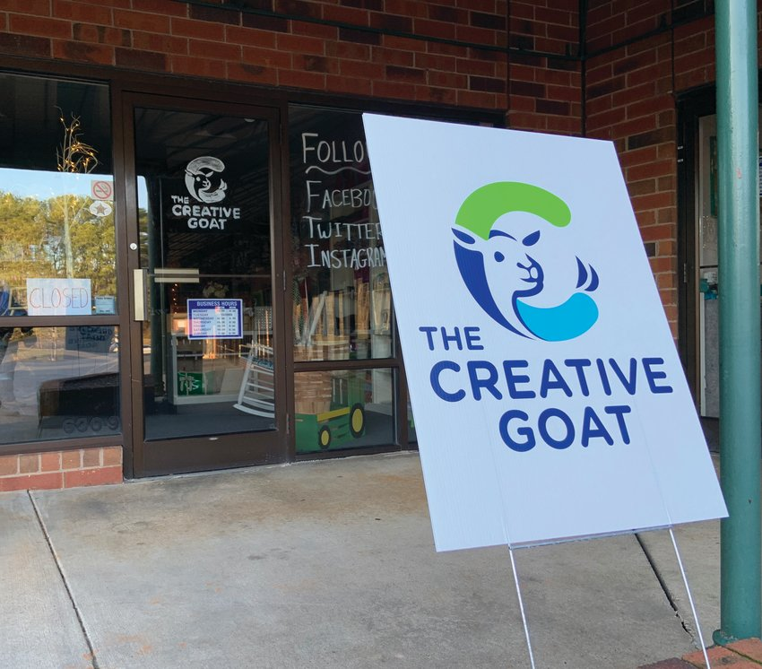 The Creative Goat, a new crafts store in Pittsboro, had its grand opening last week. The store is located in the Food Lion shopping center on East Street.