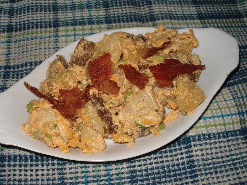 Boo-Yah Baked Potato Salad