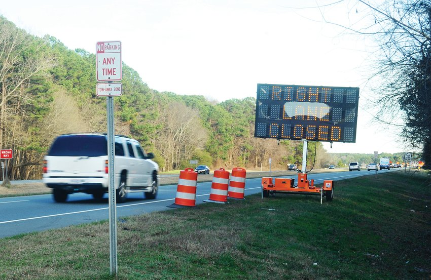 Traffic flowing on U.S. Hwy. 64 through the Jordan Lake area will experience some slow-downs over the next several months as the N.C. Dept. of Transportation contractors work to strengthen bridges.