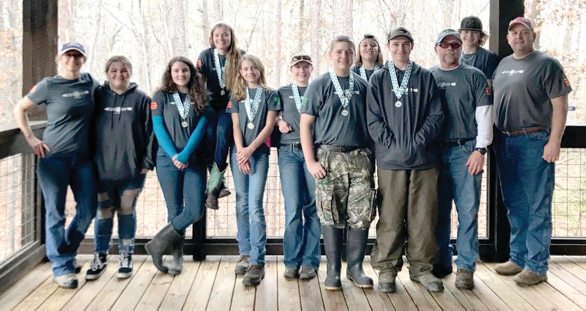 The Chaham County Shooting Sports 4-H team made an impressive showing in its first NC State Championships appearance Jan. 11 in Ellerbe.