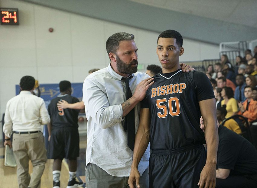 "Ben Affleck stars as a former prep basketball phenom returning to the gym as a coach while battling alcoholism in ""The Way Back."""