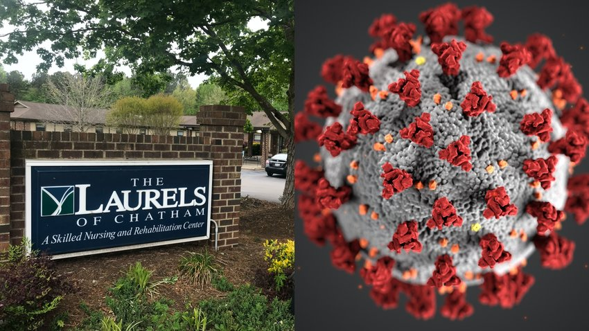 Fifty-seven individuals connected to The Laurels of Chatham Skilled Nursing and Rehabilitation Center in Pittsboro have tested positive for COVID-19, the novel coronavirus. Chatham County officials said they were in constant contact with the facility and that it had adequate personal protective equipment.