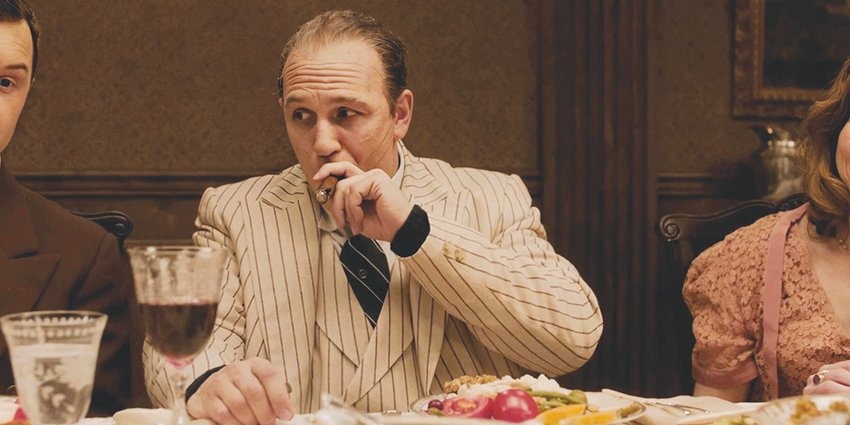 Tom Hardy stars as the aged titular gangster in 'Capone.'