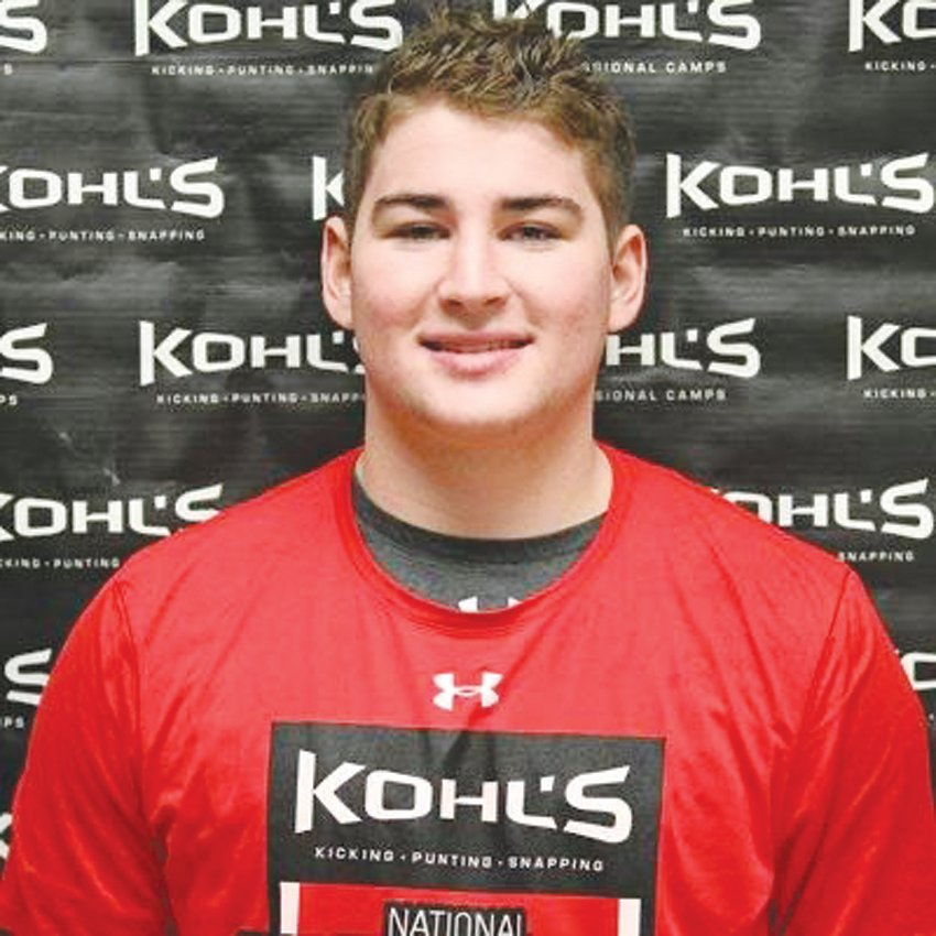 Northwood senior Jake Mann at a Kohl's snapping camp.