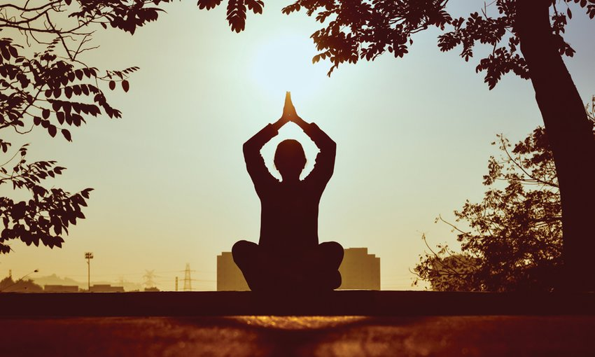 Practicing yoga and meditation can reduce stress.
