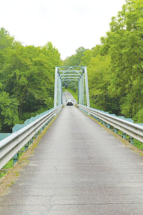 The bridge on Chatham Church Road south of Pittsboro may be the last of its kind in use in Chatham County. Local residents saved the bridge from replacement four years ago.