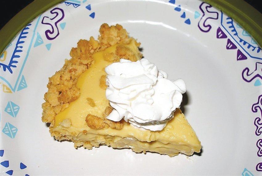 Crook's Corner pie, a la Debbie Matthews.