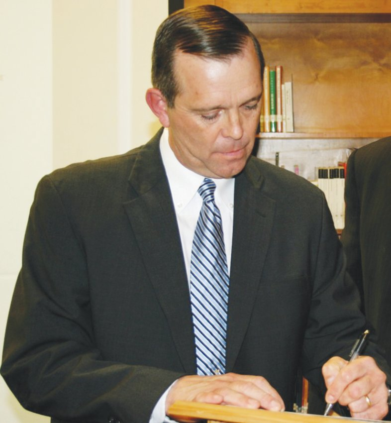 Gary Leonard joined the Chatham County Board of Education in 2010. He now serves as chairperson.