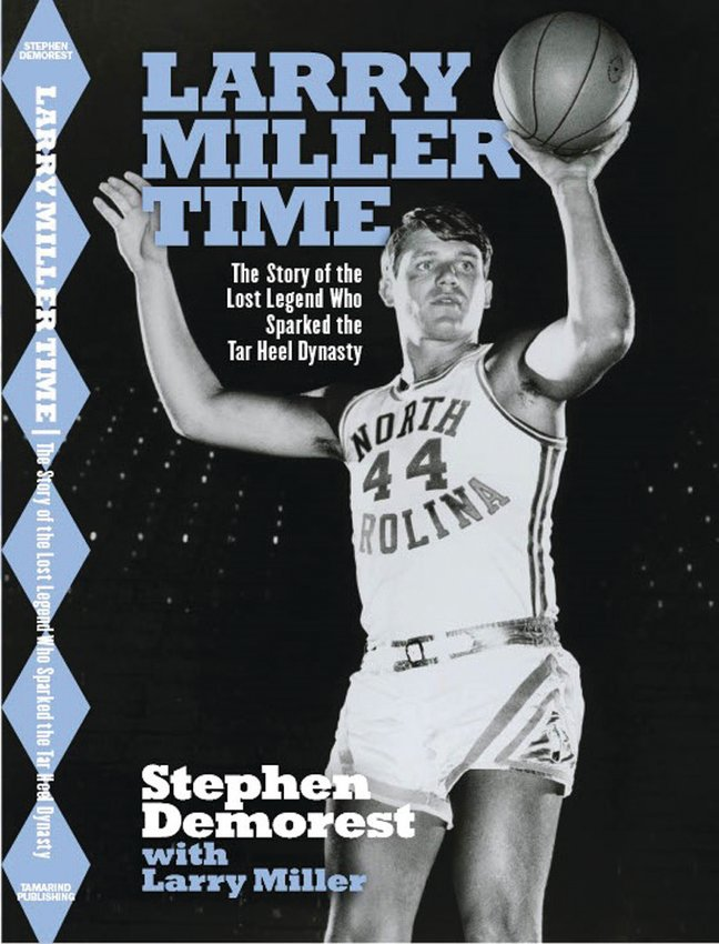 McIntyre's Bookstore hosted a Zoom discussion with UNC basketball legend Miller and co-author Stephen Demorest about Miller's new memoir.