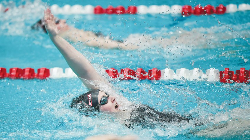 Woods Charter alum Maddie Homovich was a 2019-20 All-American in the 200-yard backstroke for the University of Georgia, where she's a junior.