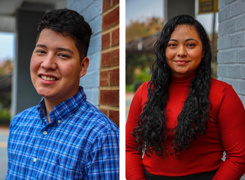 Bryant Parroquin and Maria Gomez Flores are the Hispanic Liaison's two newest employees. Parroquin is their communications manager, while Gomez Flores is their advocacy and civic engagement program manager.