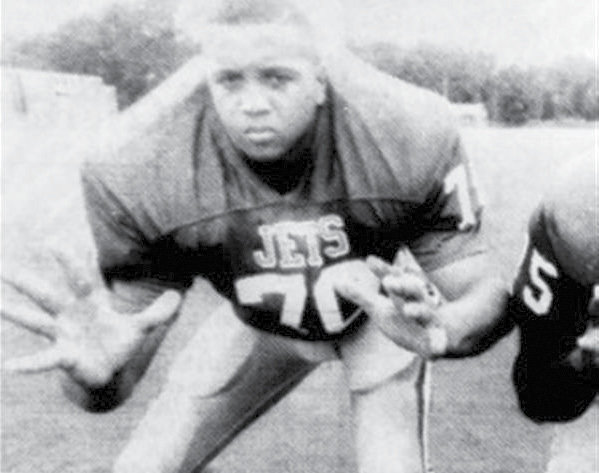 Joey Walden played defensive tackle for Jordan-Matthews and coach Phil Senter in the late 1990s.