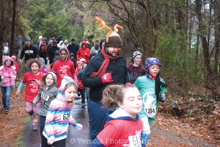 Last year's Chatham County Reindeer Run hosted around 500 runners.