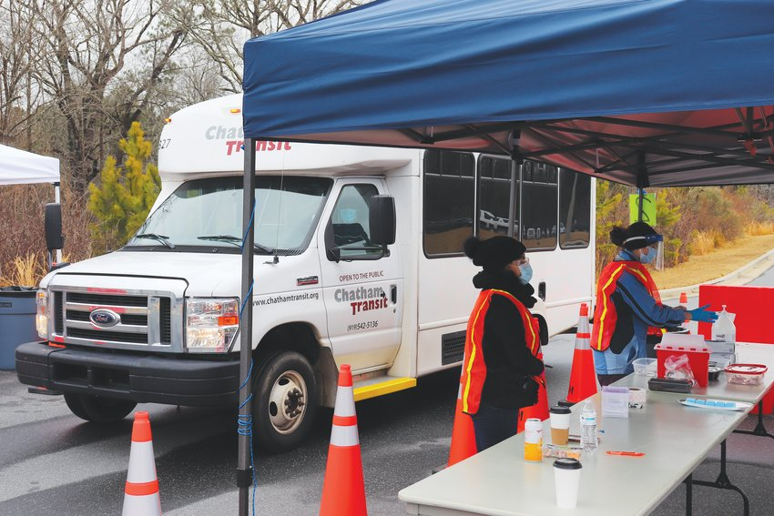 Last Thursday, while snow and ice storms swept across the country, the N.C. Dept. of Health and Human Services announced that the weather had delayed some vaccine shipments, including both first and second doses.