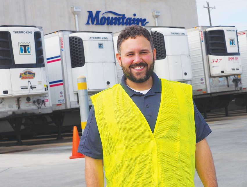Jarrod Lowery, 32, is the Community Relations Manager for Mountaire Farms in Siler City and Chatham County.