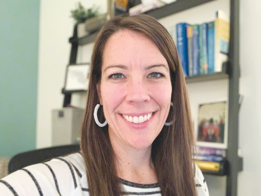 Courtney Crawford is El Futuro's director of outpatient clinical services; she's also a therapist. She's been with El Futuro for about eight years.