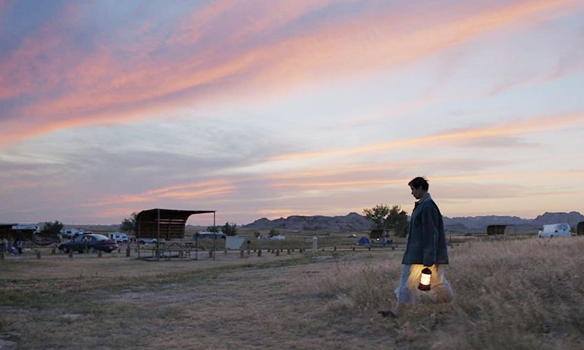 Frances McDormand stars in 'Nomadland,' a favorite at this year's Oscars.