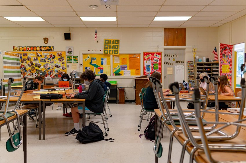 Over the course of the pandemic, CCS has received a total allotment of about $18.8 million as part of North Carolina's Elementary & Secondary School (K-12) Emergency Relief Fund (ESSER), to be received and spent over the next few years.