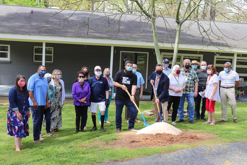 A groundbreaking ceremony for the Pittsboro Boys and Girls Club was held in April at the Kiwanis club. Now that a building at George Moses Horton Middle School has become available, the club will be housed there.