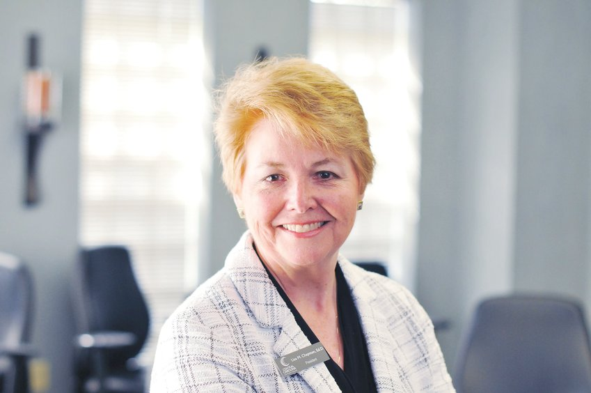 Dr. Lisa Chapman, president of Central Carolina Community College.