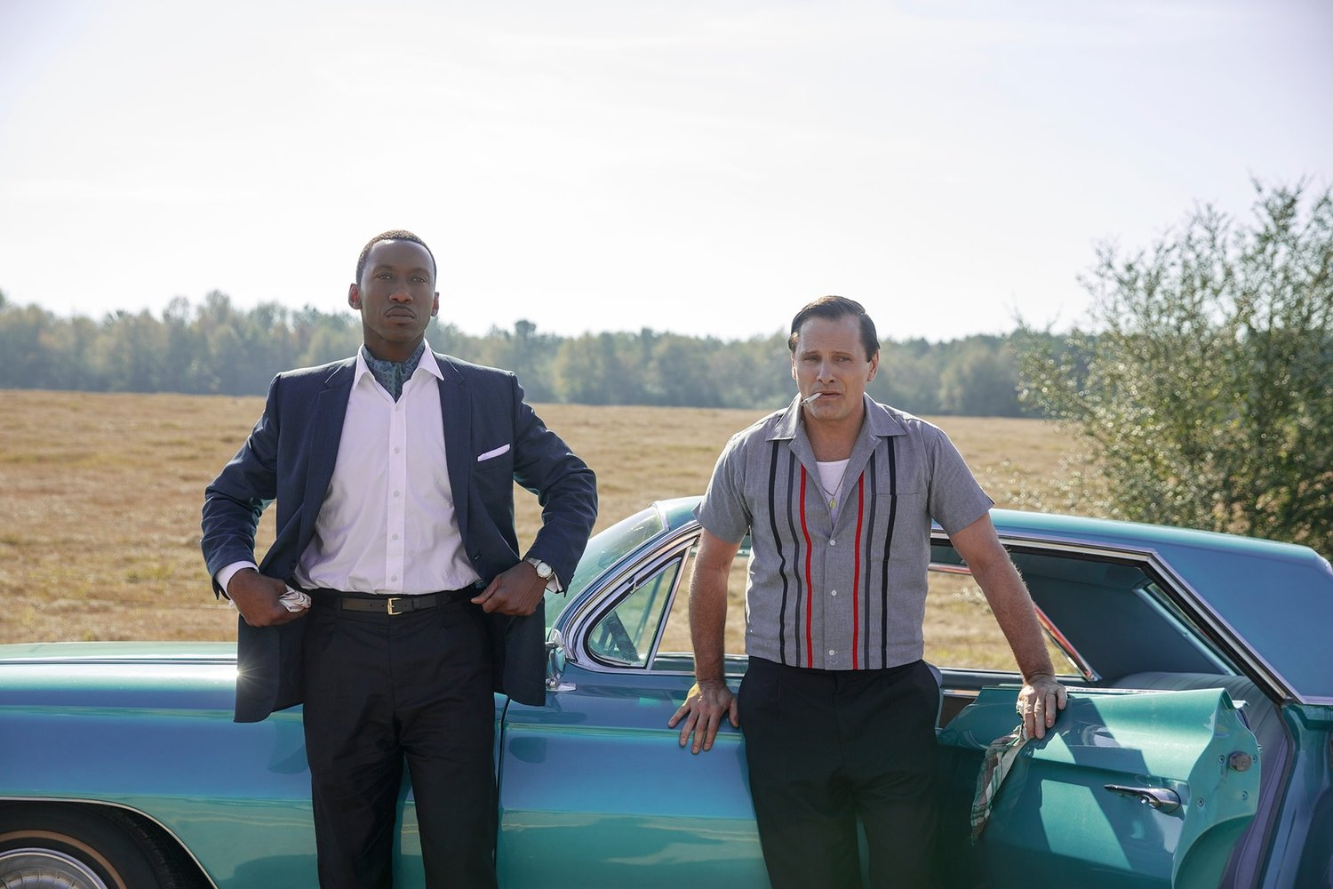 Mahershala Ali (left) and Viggo Mortensen star in the film 'Green Book'
