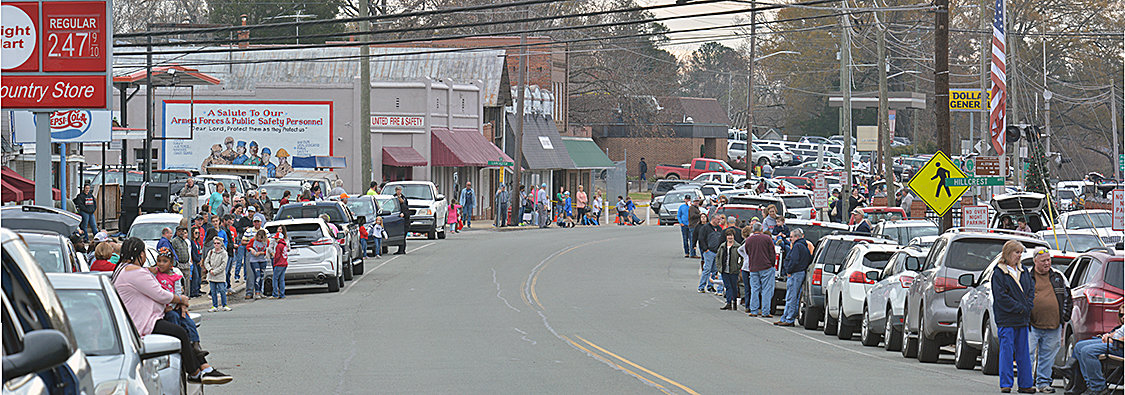 Goldston was packed Saturday morning to enjoy their annual Christmas parade.