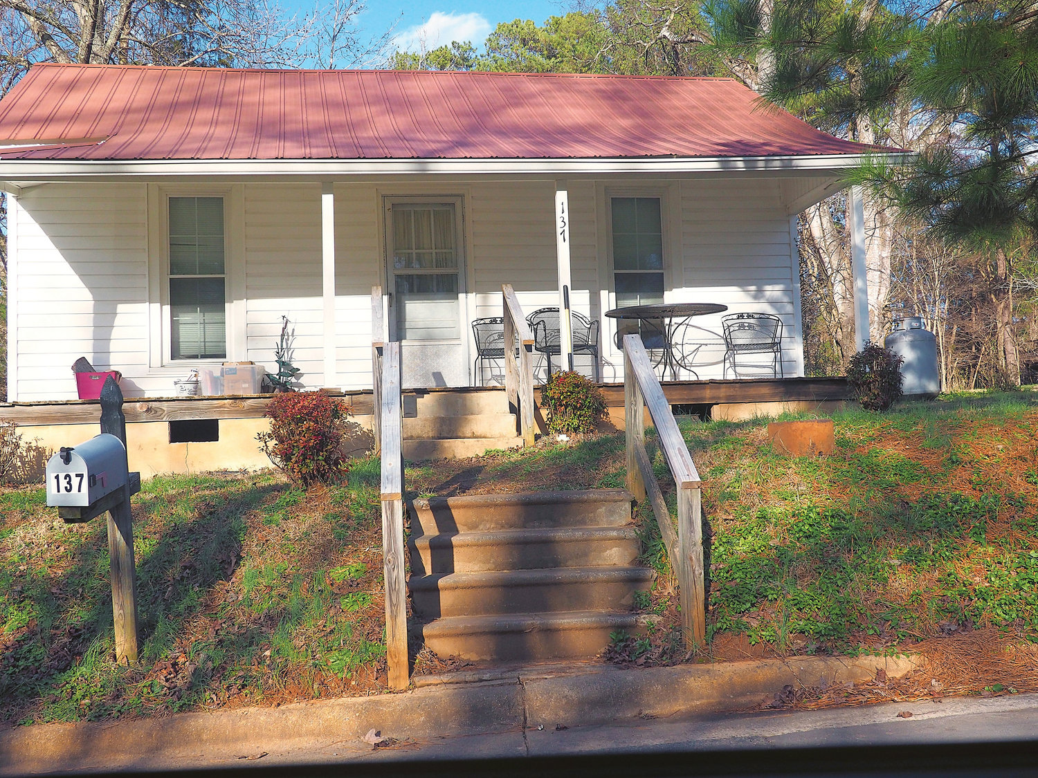 This rental home is located on Toomer Loop in Pittsboro. Habitat for Humanity is also building a community on this street.