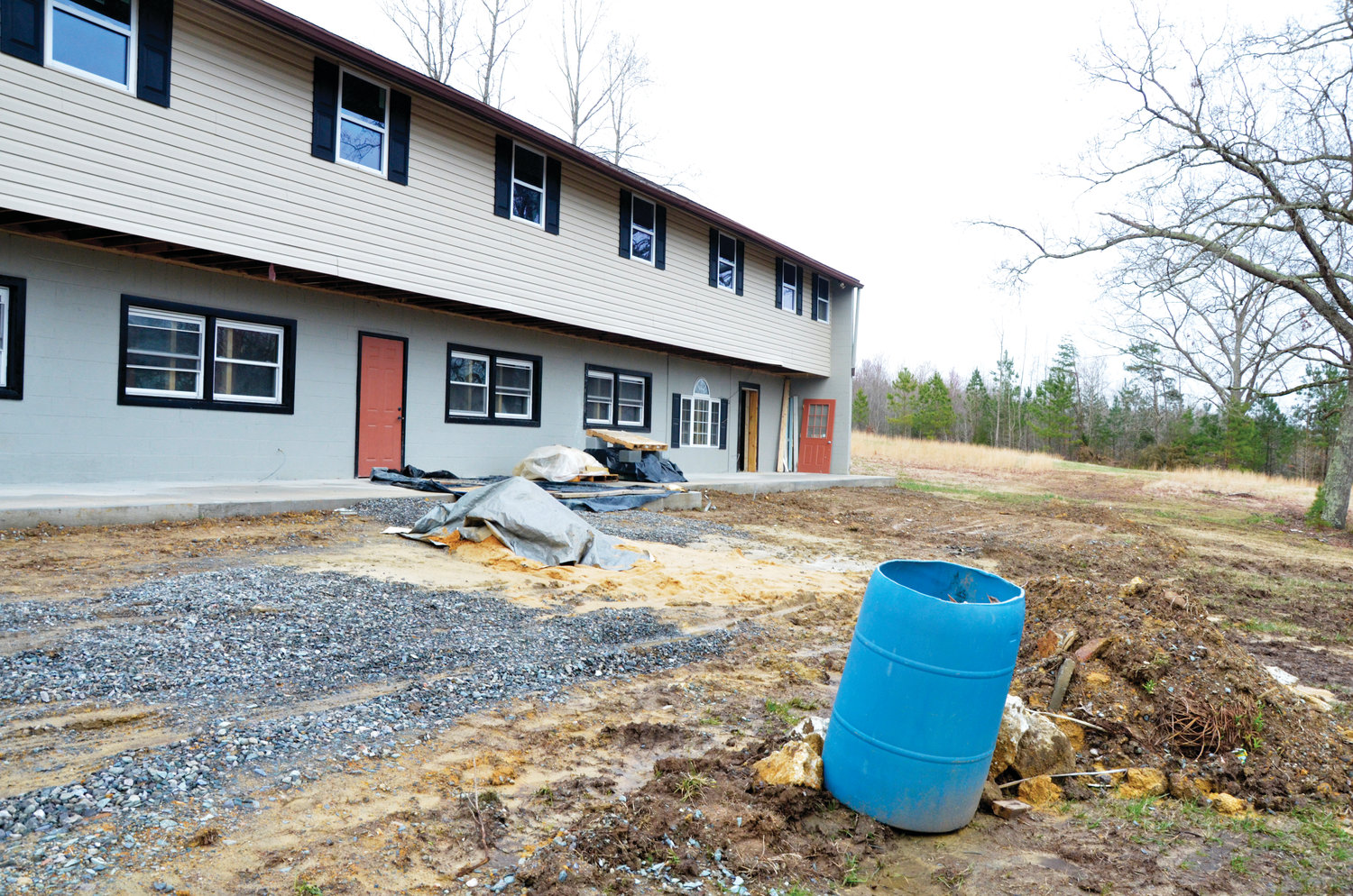 Wet weather has created some delays in work, but Ebenzer officials plan to open its seventh foster care home, their first in Chatham County, this summer.