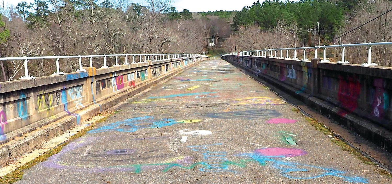 Bynum Bridge Halloween 2020 An artistic look at the Bynum Bridge | The Chatham News + Record