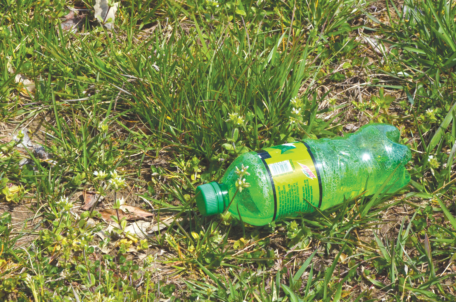 Plastic bottles are just one of the many items seen littering the roadways in Chatham County. The clean sweep effort is designed to add attractive landscapes to the area, a better quality of life, and to attract visitors. The short amount of time spent will pay benefits in the appearance of the area.