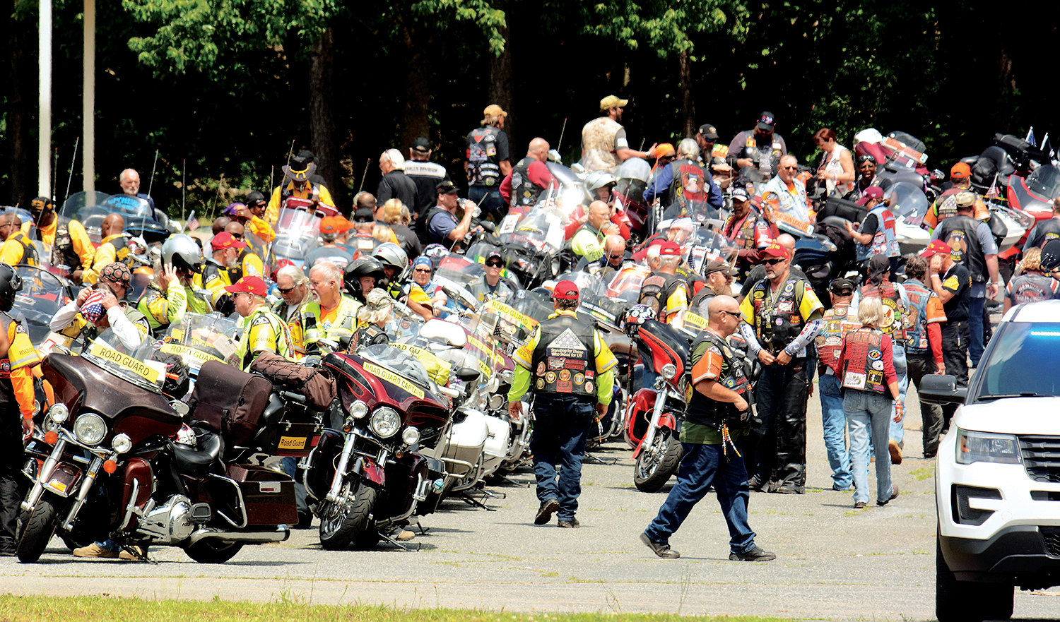 Run for the Wall, an annual pilgrimage of motorcycle riders from California to the Vietnam Memorial, will again convene in Siler City on their journey. They will stop and have lunch at the Pentecostal Holiness Church.