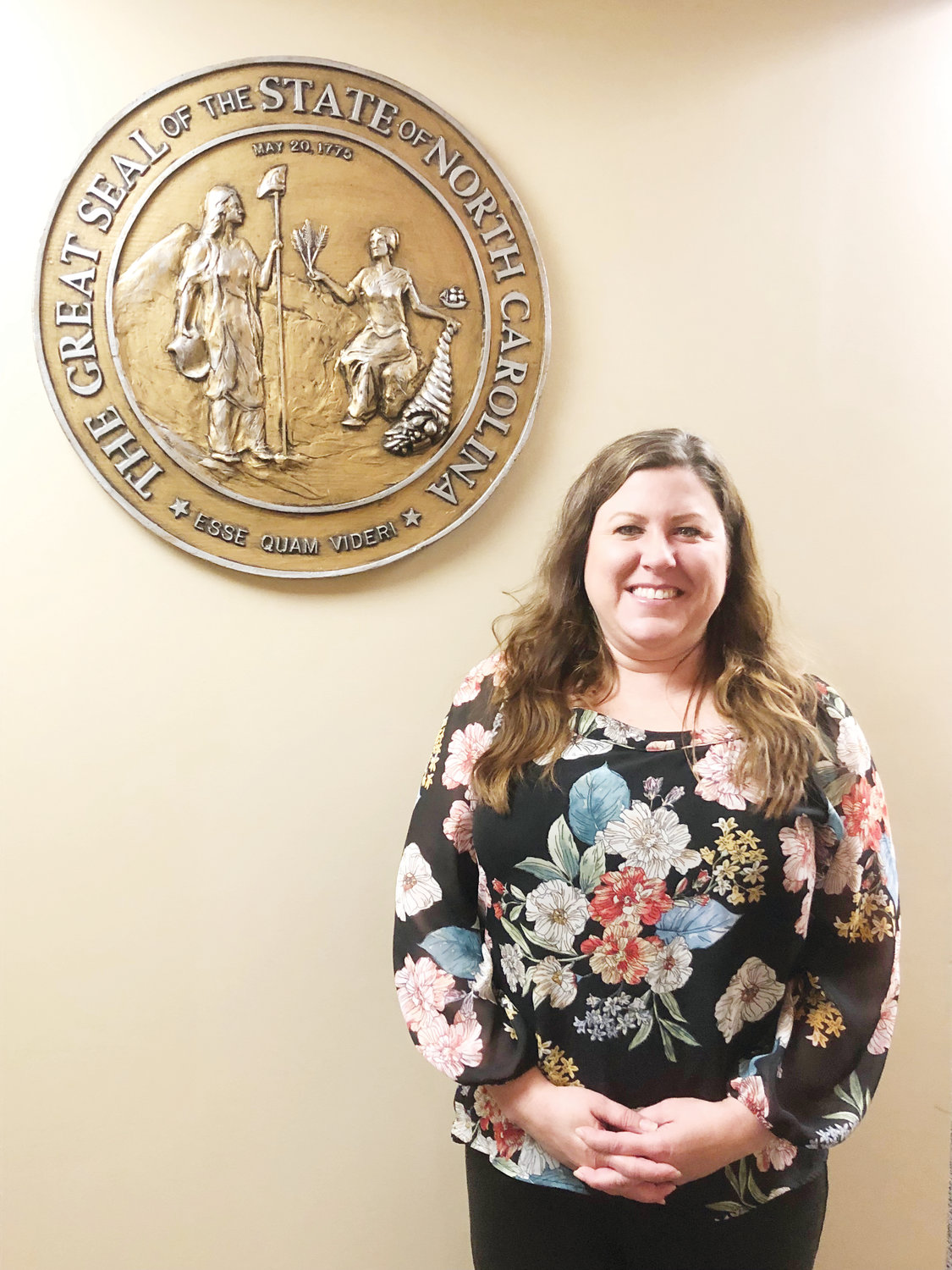 Lindsay Ray is the Clerk to the Chatham County Board of Commissioners and Assistant to the County Manager. Around the office, she's often called Leslie Knope, the lead character from the television series 'Parks and Recreation.' 'I eat, breathe, sleep local government,' she said.