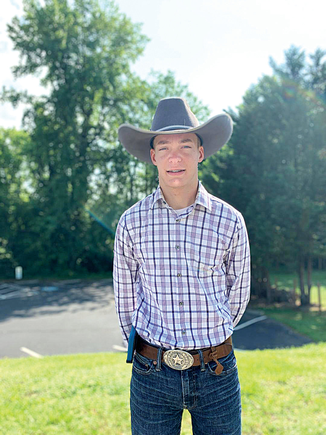 Luke Barker of Siler City will be representing North Carolina at the 2019 4-H National Shooting Sports Championships in Grand Island, Nebraska, beginning on June 23.