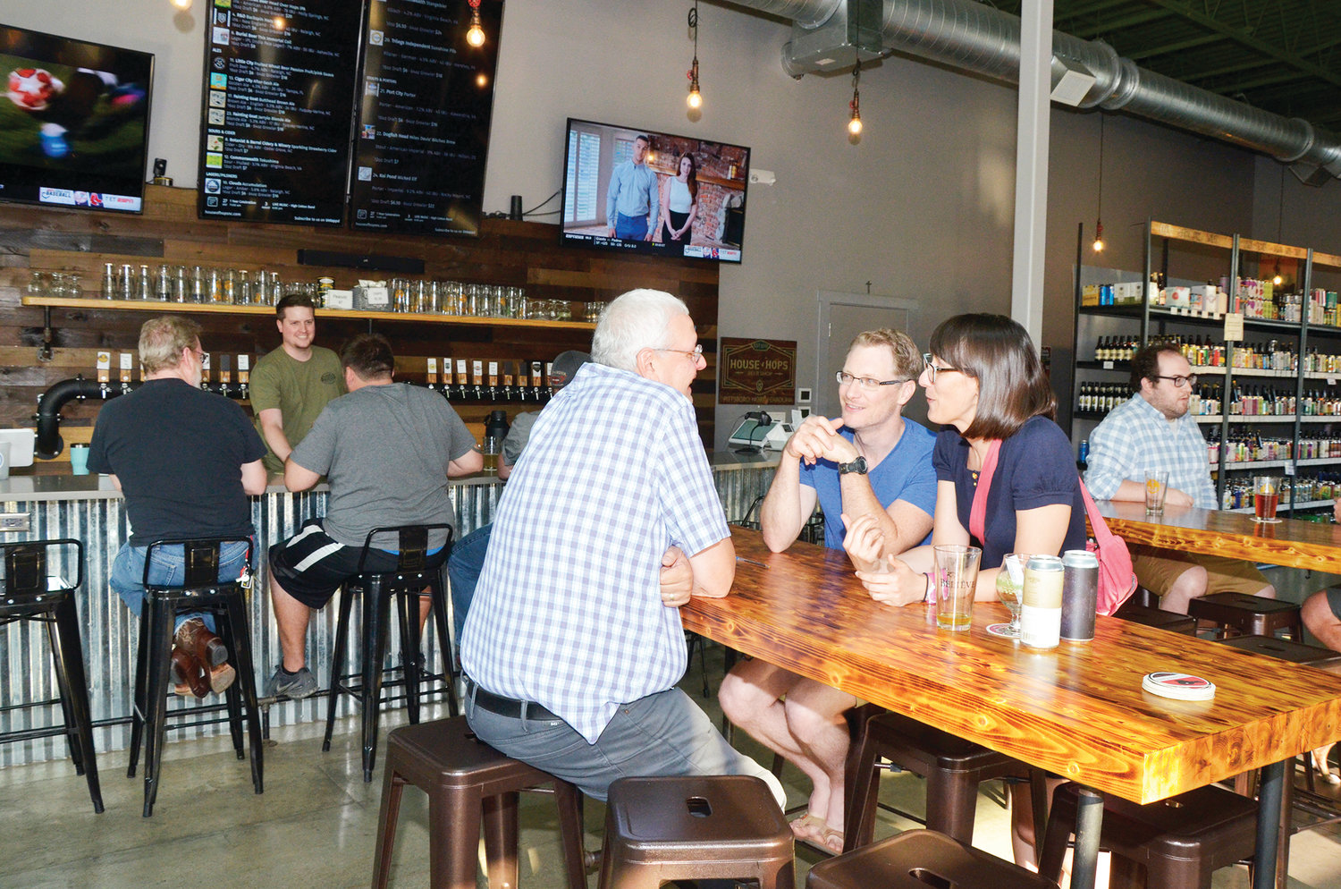 The House of Hops offers the local community a place to go, relax and meet new people.