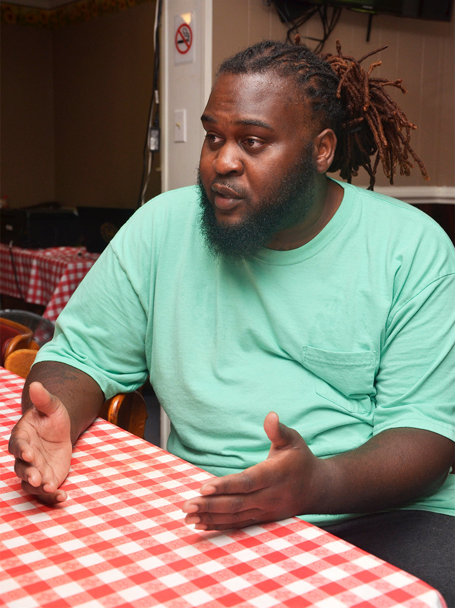 The A & I Chicken Shack has been open only three weeks, but Andre Chaney, owner, talks the support he has received after receiving the letter.